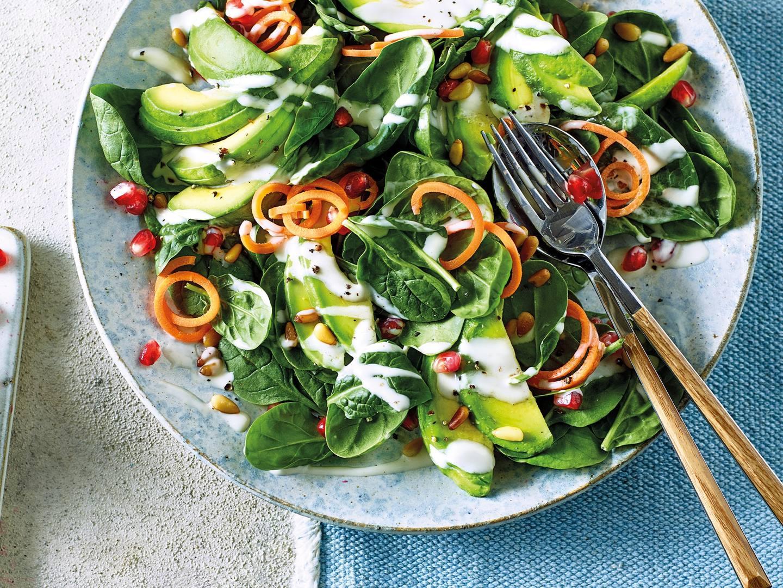 Avocado & Pomegranate Seed Salad