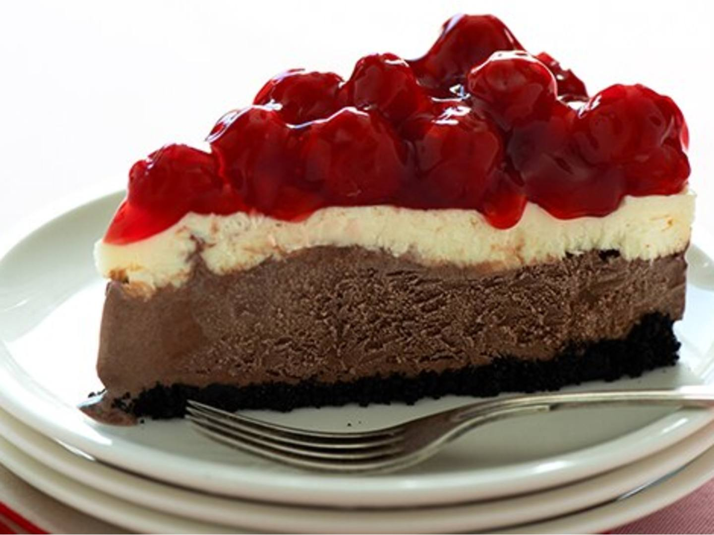 Breyers Chocolate Cherry Cheesecake
