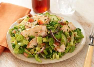 Citrus Rubbed Chicken Dinner Salad