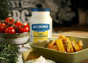 Perfectas patatas al romero Hellmann's