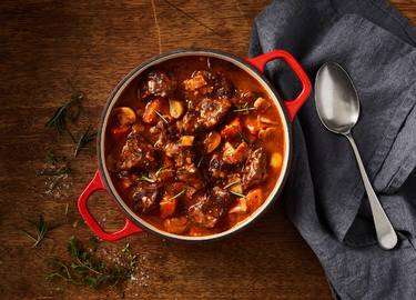 Beef, Bacon & Mushroom Casserole