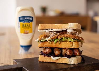 Boxing Day Club Sandwich