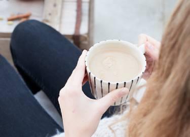 Thé Chai au lait d'amande