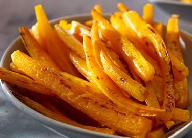 Snacks de zanahoria