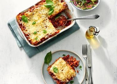 Klassieke lasagne Bolognese met Rul Gehackt