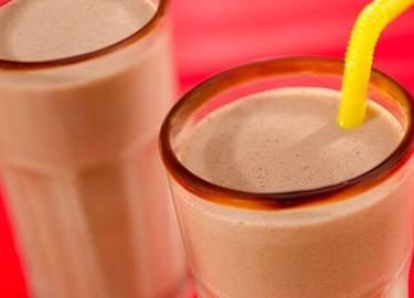 Double Chocolate Peanut Butter Milkshake Recipe