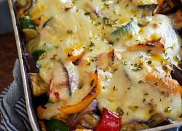 Gratin de légumes à la béchamel