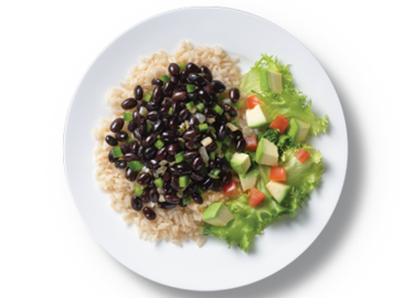 Cuban Rice & Black Beans
