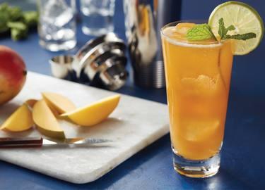 Lipton® Black Iced Tea Sparkling Mango cóctel sin alcohol