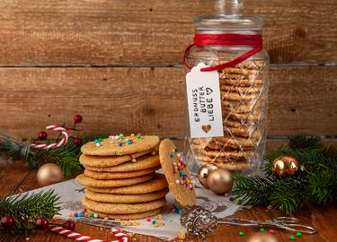 Erdnussbutter Cookies