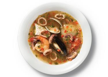 Caldo de Siete Mares (Seafood Soup)