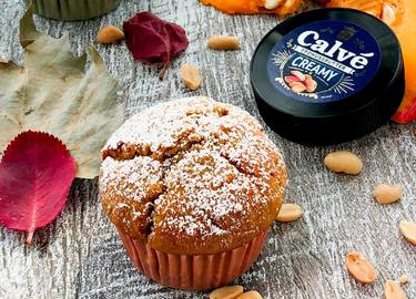 Erdnuss-Kürbis-Muffins