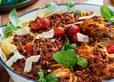 The Vegetarian Butcher Spaghetti Bolognese
