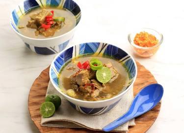 soto daging sapi lezat ala royco