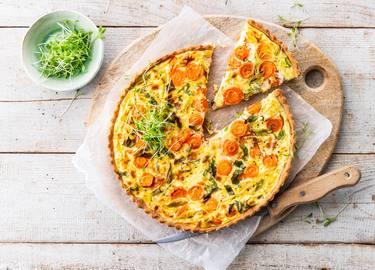 Knorr - Quiche aux carottes