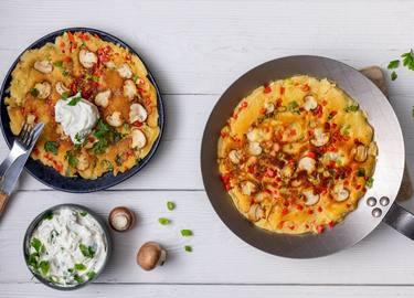 Knorr - Omelettes aux légumes végans