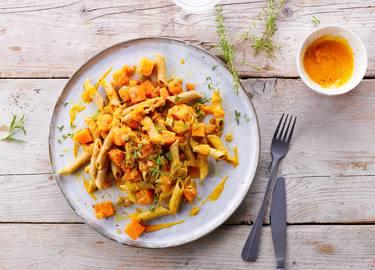 Knorr - Penne d'automne à la courge et à l'orange