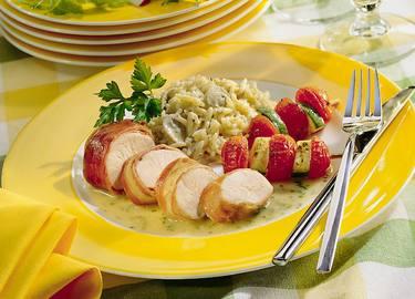 Knorr - Hendelfilets im Schinkenmantel