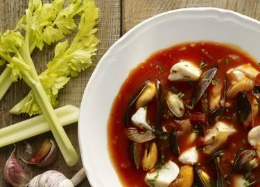 Fisksoppa från Medelhavet