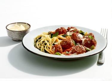 Unbelievaball Meatball Spaghetti