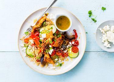 Knorr - Salade de couscous aux blancs de poulet marinés et aux légumes