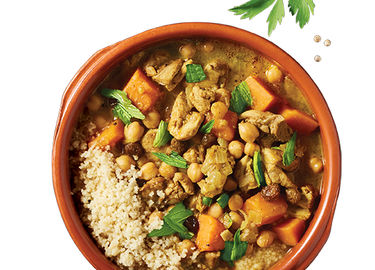 Moroccan Chicken & Sweet Potato Tagine