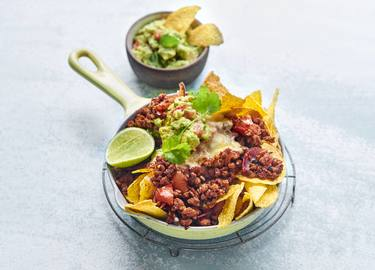 Nachos mit Hick-Hack-Hurra Chili