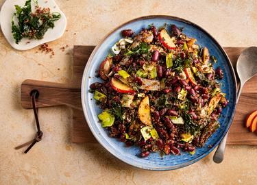 Knorr - Quinoa Salat mit Grünkohl