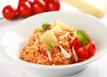 Knorr - Feuriges Tomaten-Paprikarisotto