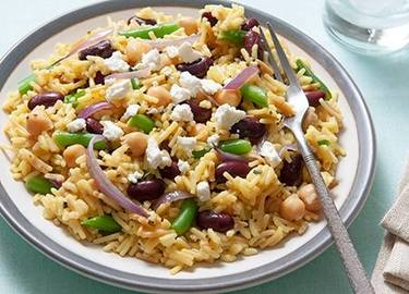 3 Bean Rice Salad