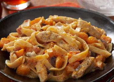 Chicken & Butternut Squash Alfredo