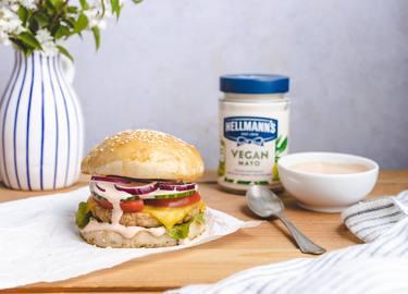 Hellmann's - Veganer Burger