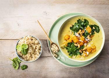 Knorr - Kokos Curry mit Spinat