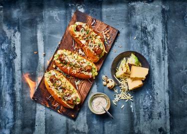 Berliner bratwurst sandwiches