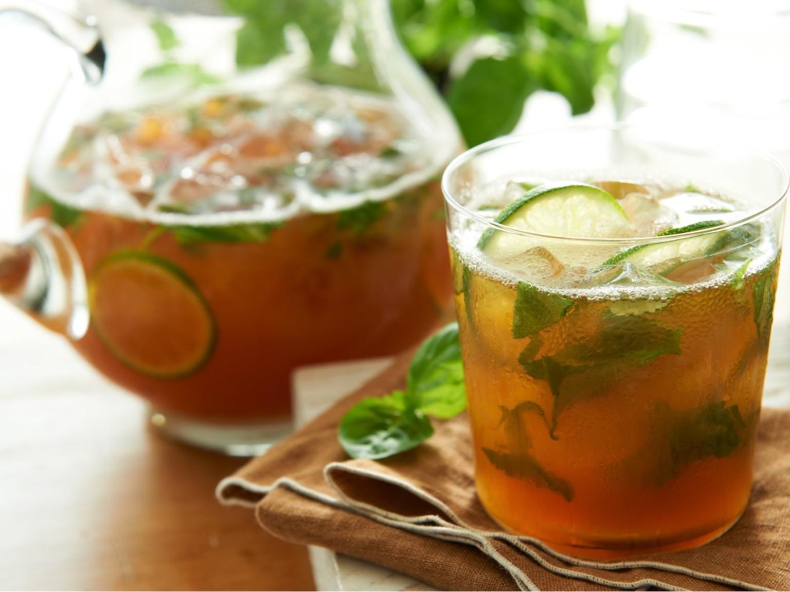 Basil Mojito Iced Tea