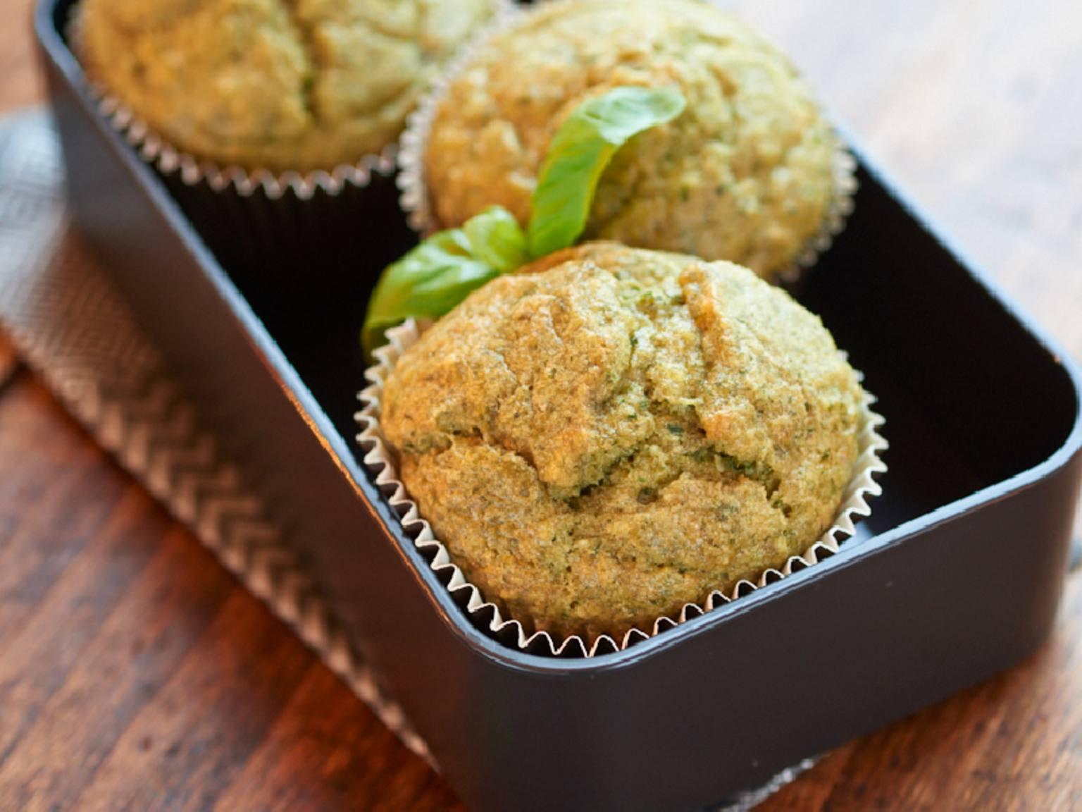 Muffins au pesto
