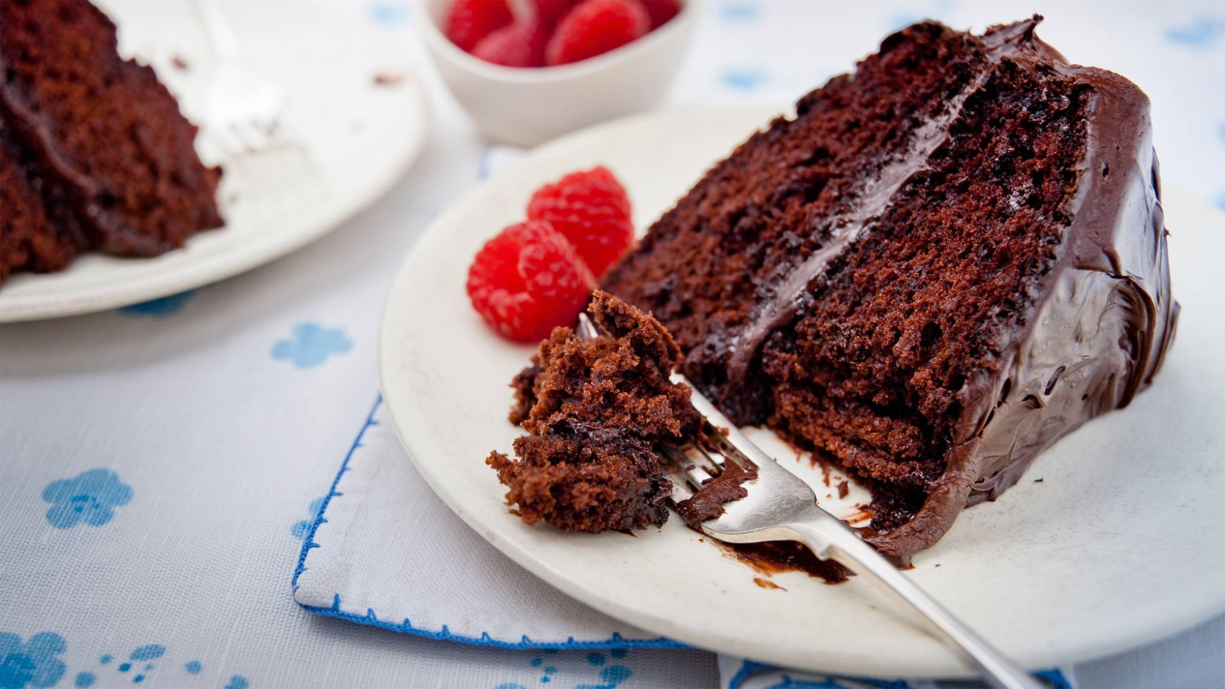 Moist Chocolate Mayo Cake