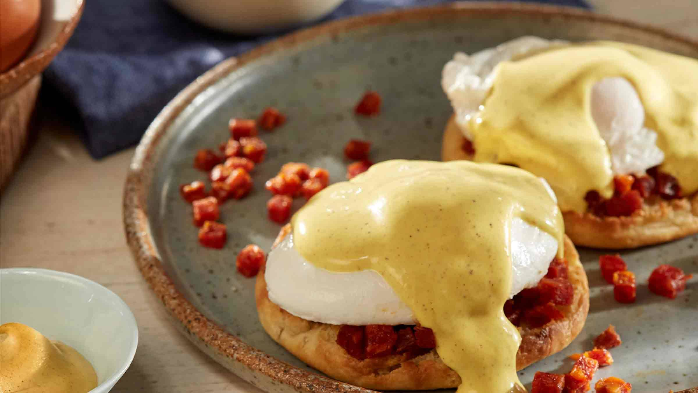 Chorizo Eggs Benedict