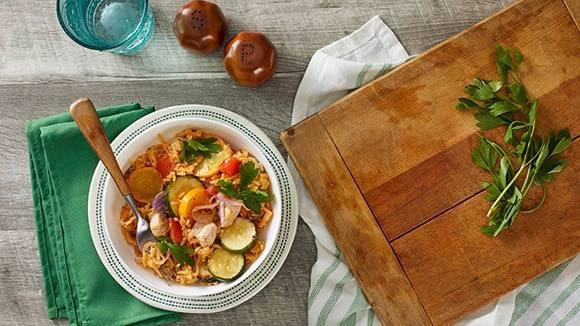 Farm Stand Chicken Cheddar Broccoli Bowl