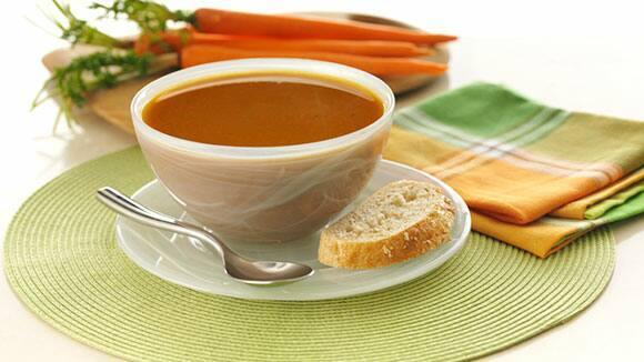 Caramelized Onion & Carrot Soup