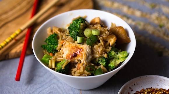 Chicken & Broccoli Teriyaki