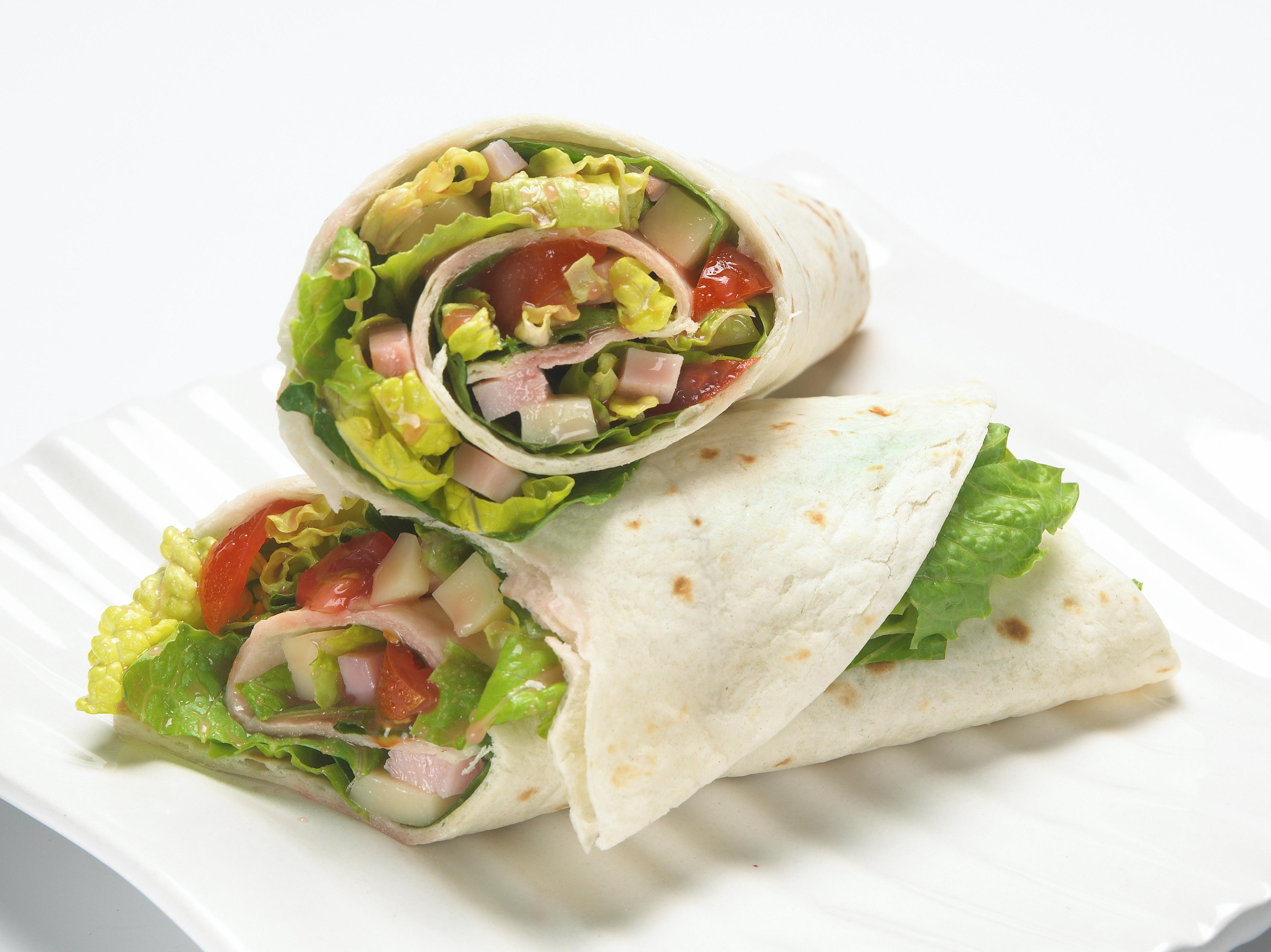 Antipasti Salat Wraps