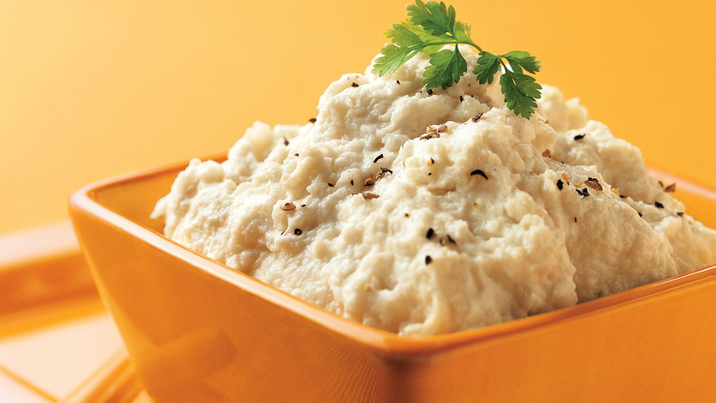 Rich & Creamy Mashed Cauliflower Recipe