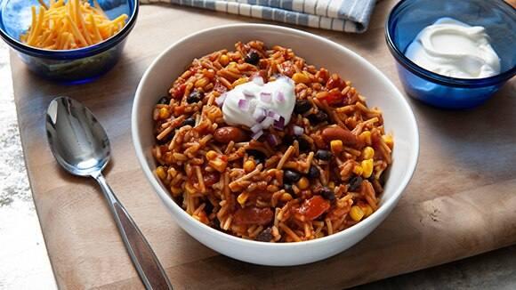 Easy 2 Bean Veggie Chili