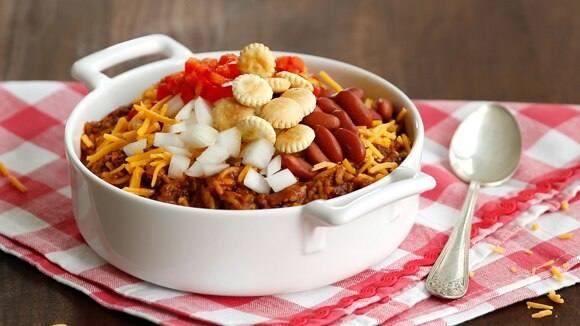 Cincinnati-Style Chili & Rice
