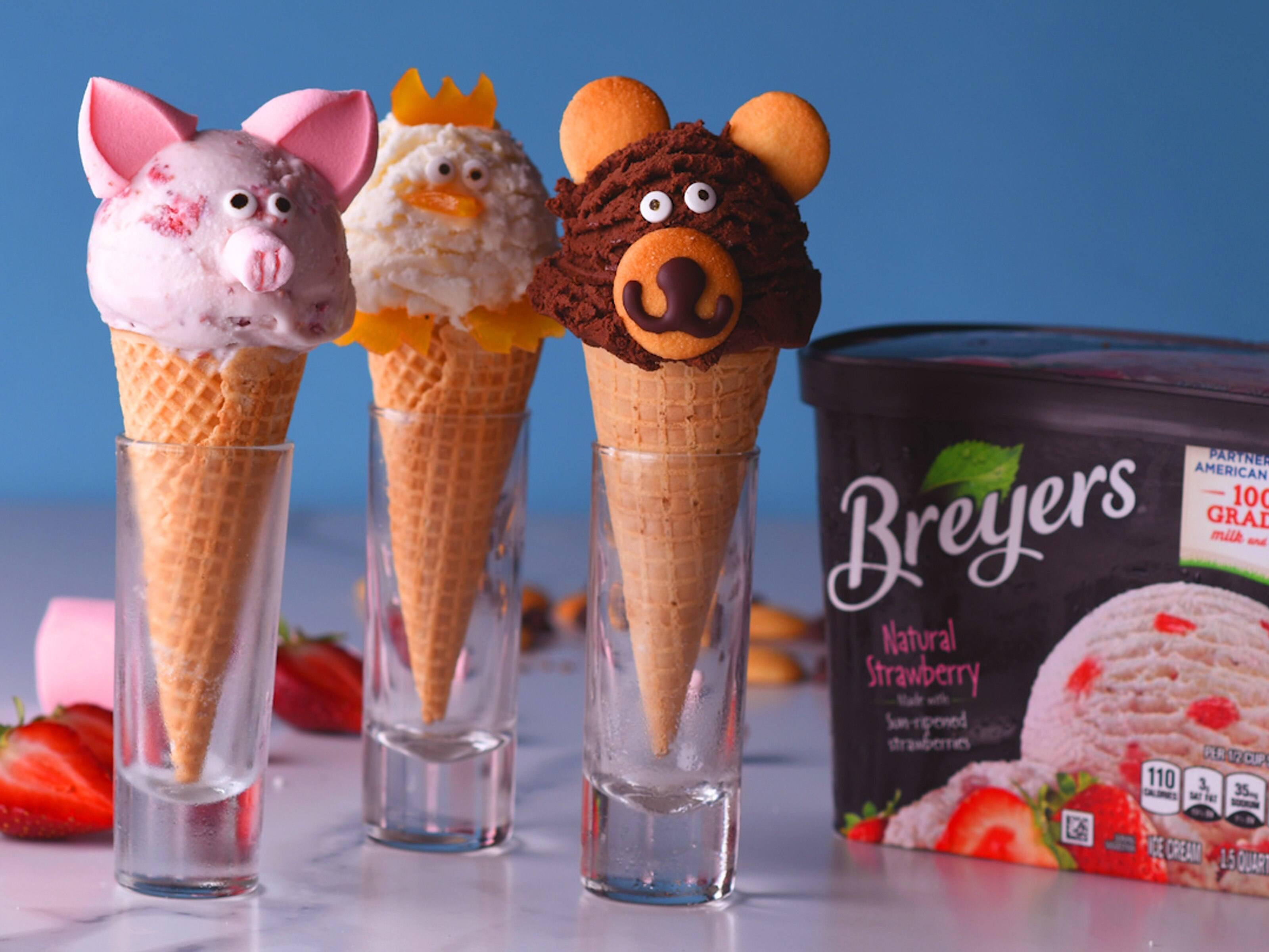 Ice Cream Cone Pals Recipe