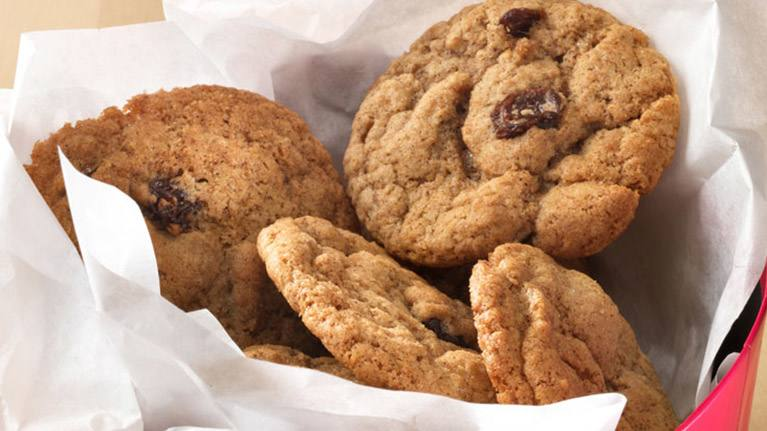 Cinnamon & Raisin Cookies