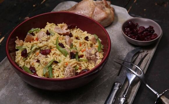 Harvest Turkey & Rice Dinner