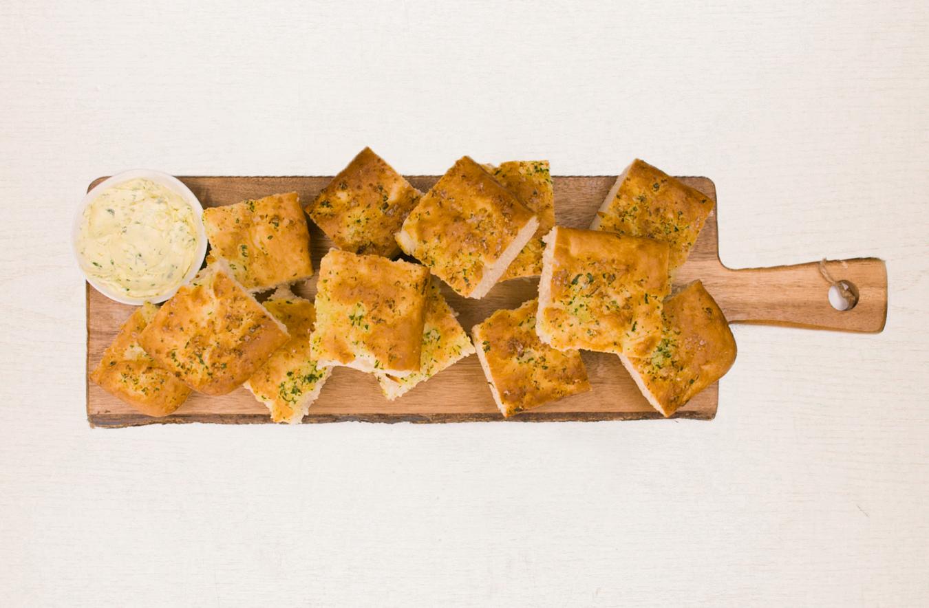 Homemade Vegan Garlic Bread