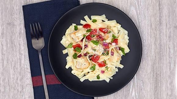 Chicken Bruschetta Alfredo